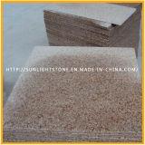 De goedkope G682 Tegels van de Bevloering van het Graniet van de Zonsondergang Gouden Nevelige Gele