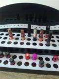 Présentoir acrylique de rouge à lèvres de 3 rangées, support d'affichage de rouge à lèvres, présentoir cosmétique