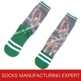 Men' S Printed Basketball Sock Sport