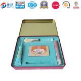 Caja Jy-Wd-2015112713120103 de la lata del almacenaje del maquillaje de los kits del maquillaje del favor de las muchachas