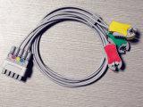 Cable del tronco ECG de GE-Marquette 11pin Snap&Clip 5