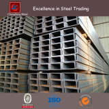 Low Carbon JIS Ss540 Mild Steel U Channel Steel pour Windows / Machines (PFC UPN UPE)
