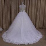 Шнур Lace a - линия мантии White Wedding Dress Bridal
