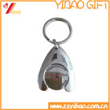 아연 합금 홀더 (YB-LY-K-14)를 가진 트롤리 동전 Keychain