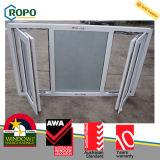 As2047 ventana del marco de la doble vidriera UPVC