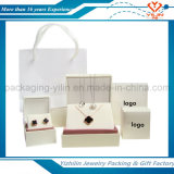 Rectángulo de empaquetado de joyería de la joyería de lujo de encargo del rectángulo