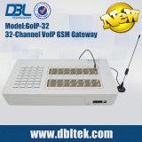 32 portas SIM Box Gateway GSM GoIP32 para VoIP de Terminação de Chamadas