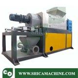 Plastik 500-600kg/H, der granulierende Maschine für das Trocknen des waschenden Materials zusammendrückt