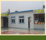 Casa Prefab de aço com o painel de sanduíche do EPS