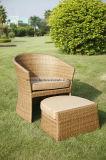 Presidenza d'attaccatura della mobilia del rattan di tempo di Lreadding del patio dell'oggetto d'antiquariato di festa della presidenza