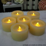 Gelbes Flameless Mini LED Wax Candle mit Timer Function