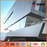 Ideabond Silver 4mm Exterior Decoration Aluminum Cladding