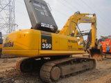 Máquina escavadora usada da esteira rolante de KOMATSU PC350-7 para a venda