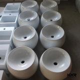 近代美術の人工的な石造りの浴室手の洗面器(B1611096)