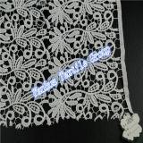 服装のアクセサリの綿織物の刺繍のレースファブリック