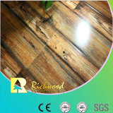 12.3mmのWoodgrainの質のブナの防水薄板にされた床