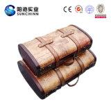Estilo chino de baúles de madera antiguos