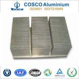 De aangepaste Uitdrijving van het Aluminium voor Afgeschaafde Vin Heatsink voor Diverse Industrie