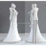 De Decoratie van de Cake van het Beeldje van Topper van de Cake van het Huwelijk van de Hars van de Decoratie van het huwelijk