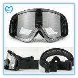 Óculos de proteção Anti-Fog do velomotor da lente do PC do frame flexível de TPU