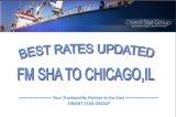 上海からのシカゴ、Ilへの貨物運送業者