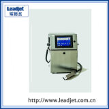 Stampatrice del getto di inchiostro della data di scadenza della stampante di Leadjet di codice della bottiglia