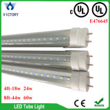 Bestes verkaufenSMD2835 AC100-277V G13 zwei Pin 4FT 18W 24W 8FT 44W 60W Gefäß-Licht UL-LED T8