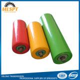 Rodillos simples o dobles del transportador del tubo de la correa de los surcos para el transportador