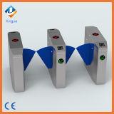 304 Acier inoxydable approuvé RFID Security Gate Flap Barrier. Wires Barrier Gate avec lecteur RFID