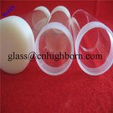 Traitement du tube adapté aux besoins du client de quartz d'espace libre d'extrémité de vis