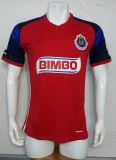 2016/2017匹の季節のChivasグアダラハラのCD赤いフットボールのジャージーのTシャツ
