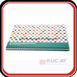 Impressão personalizada Yo Binding Hard Cover Address Notebook