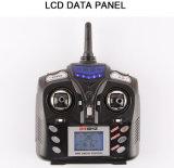 259391W-2.4G 4 giroscópio RC Quadcopter da linha central da canaleta 6 com a câmera de 0.3MP HD
