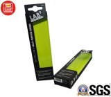 Caixa lateral dobro com indicador transparente, caixa de papel da impressão da dobradura com a venda por atacado UV do ponto