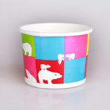 Kundenspezifisches Printed 6.5oz Double PET Ice Cream Paper Cup