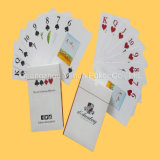 Cartões plásticos do póquer dos cartões de jogo para o clube do casino