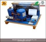 Unidade de condensação com compressor refrigerado a frio
