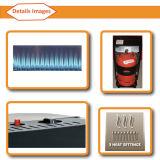 ультракрасный керамический подогреватель газа 4200W с CE, PAHs, достигаемостью (H5201, зашкурят синь)