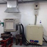 forno di fusione di induzione d'acciaio 50kg con la fornace per media frequenza