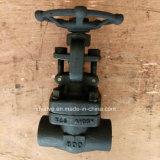 API602 ha forgiato la valvola a saracinesca del NPT dell'estremità filettata del acciaio al carbonio A105