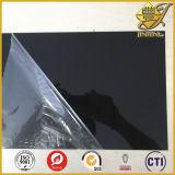 Strato rigido lucido nero del PVC