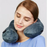 U Shape Travel Neck Pillow Inflatable Travel Pillow for Car