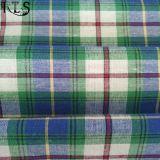 La toile/le filé de L/C tissé par coton a teint le tissu pour des chemises/robe Rlsc21-2FL