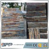 Azulejos oxidados naturales de la pizarra para la azotea de la fachada, revestimiento de la pared exterior