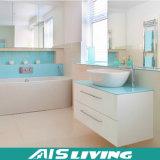 Laquerの白い壁はハングさせた家(AIS-B021)のための浴室用キャビネットを