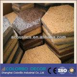 Tarjeta incombustible de las lanas de madera del amortiguador sano del techo