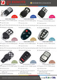 Plástico RF Universal Duplicate Remote Control para Fix Code, Rolling Code