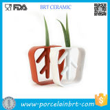 Dekoratives White Ceramic Cheap Bud Vases für Sale Flower Vase