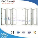 Grande porte de pliage japonaise en verre prête à l'emploi toutes sortes d'usine de portes intérieures