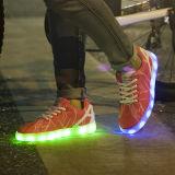 2016 самых последних цветов конструкции 7 Unisex ботинки тапок СИД, ботинки света СИД проблескивая для женщин
